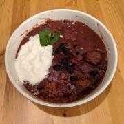 Finished Pomegranate Soup