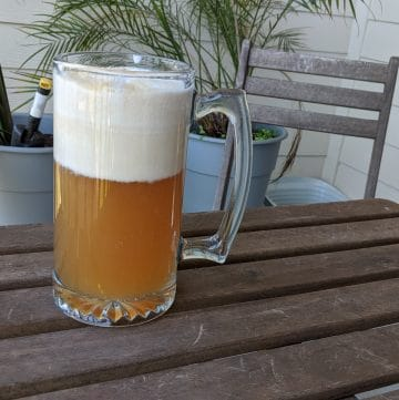 A mug of butterbeer