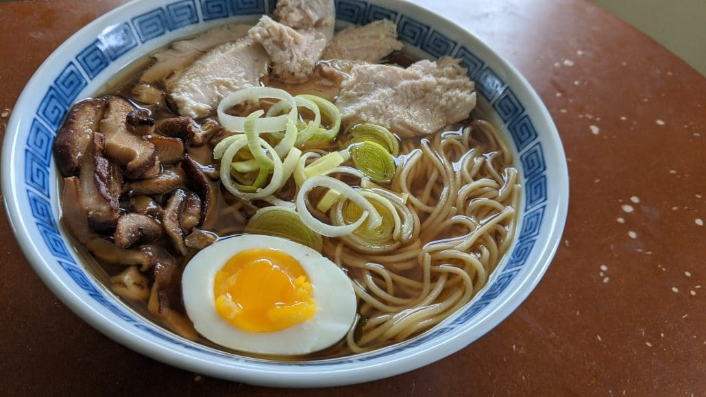 Shoyu Turkey Ramen