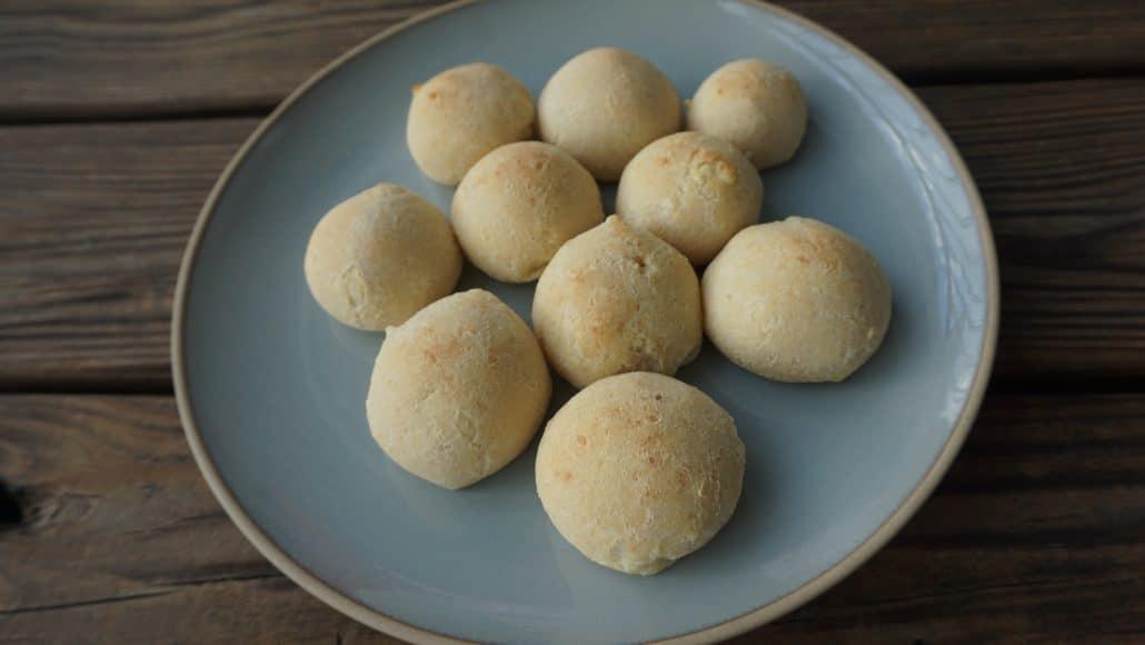Pan de bono on a plate